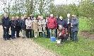 Buergerverein Dinkelaue Gronau Bilder:  2012 04-21 Baum des Jahres Laerchenpflanzteam