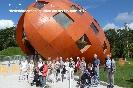 Buergerverein Dinkelaue Gronau Bilder:  2012 08-03 Florade Teilnehmer vor dem Niederlaendischen Pavillon
