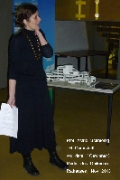 Buergerverein Dinkelaue Gronau Bilder:  2013 11-28 Entwuerfe fuer Rathausneubau Prof Astrid Schmeing