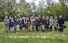 Buergerverein Dinkelaue Gronau Bilder:  2016 03-24 Fortsetzung der Dinkelsteinroute baumpflanzen 2016
